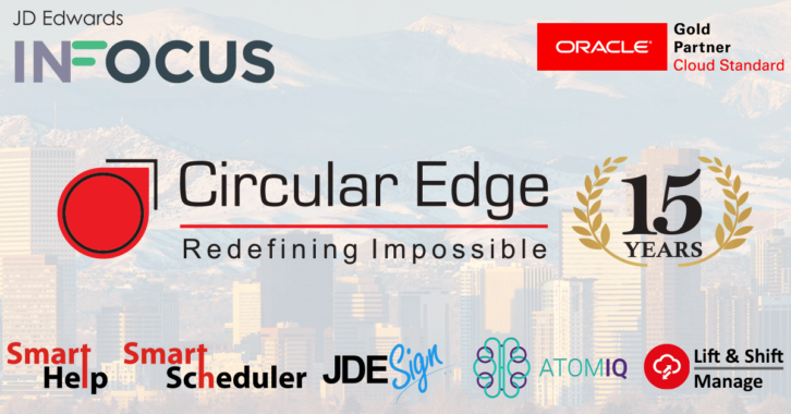 Circular Edge Anniversary InFocus PR